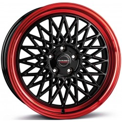 Borbet B Black Red