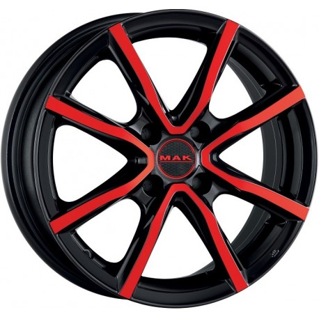MAK Milano 4 Black Red