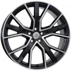 WSP Alicudi Glossy Black Polished