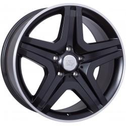 WSP Miyagi Dull Black Rim Polished