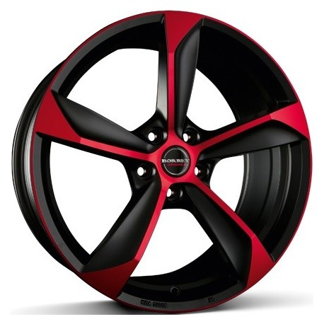 Borbet S Black Red