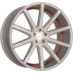 Corspeed Deville Silver Brushed Surface Trim Red